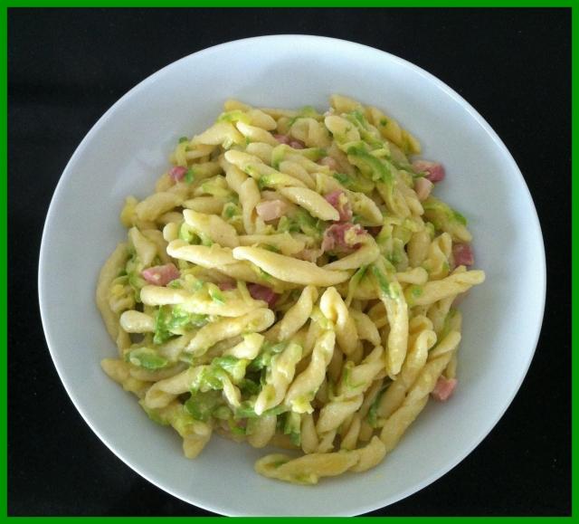 pasta con zucchine e baconnew