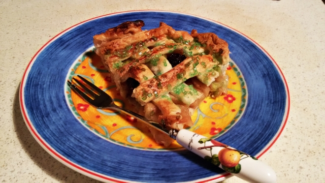 torta maça verde