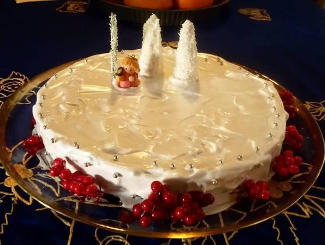 torta nozes